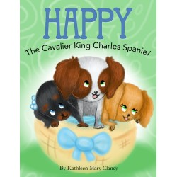 Happy the Cavalier King Charles Spaniel